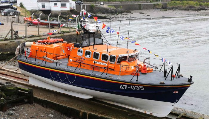 The last Tyne Class lifeboat in RNLI service . . .
