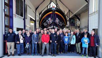 Lifeboat Enthusiasts AGM 2019 at RNLI Llandudno a great success