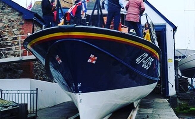 Last Tyne Class in RNLI Service retires after 30 years on station at Wicklow