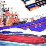 Historic Lifeboat Illustration Project